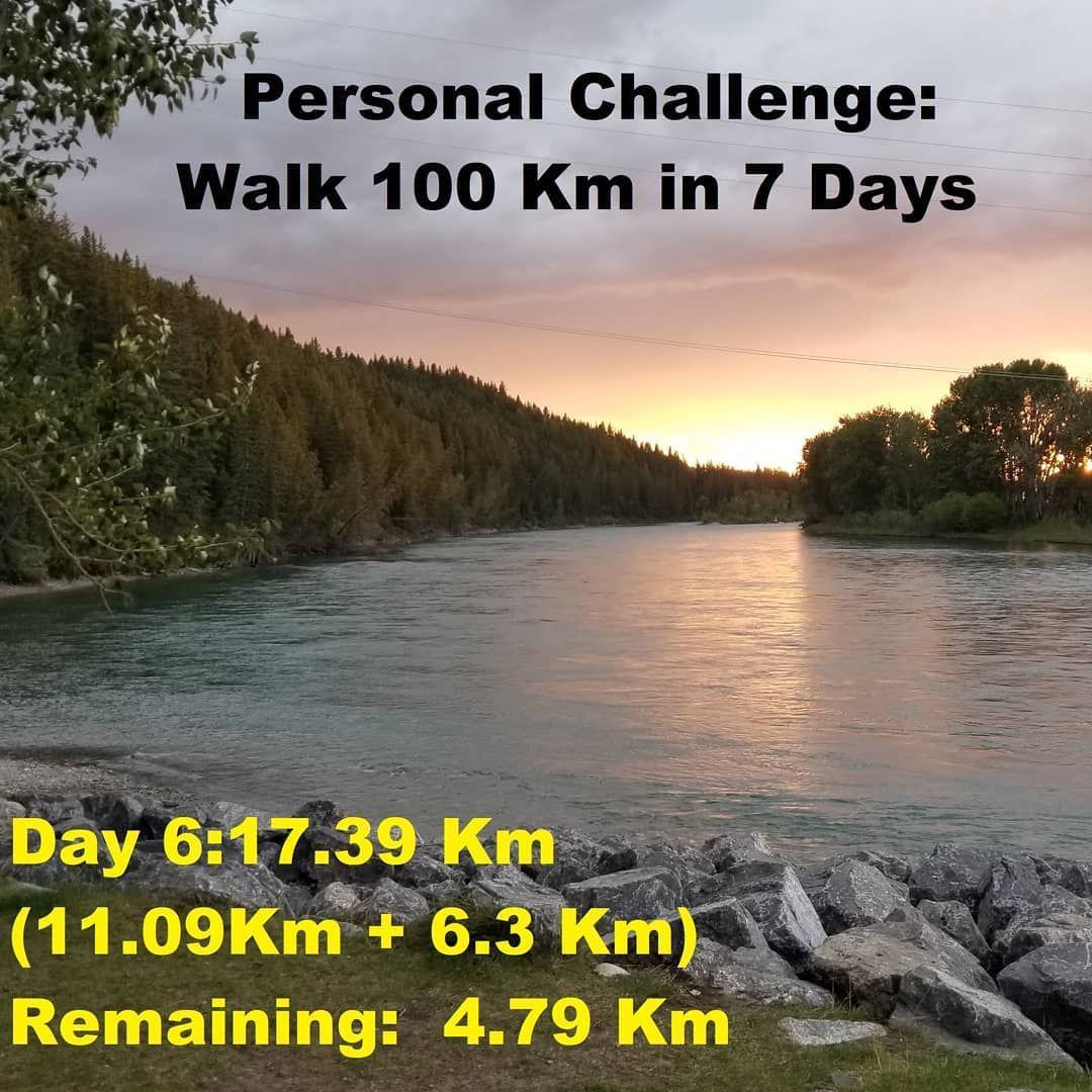 Getting it done #walking #fitness #fitnessmotivation #personalchallenge #nature #settinggoals #physi...