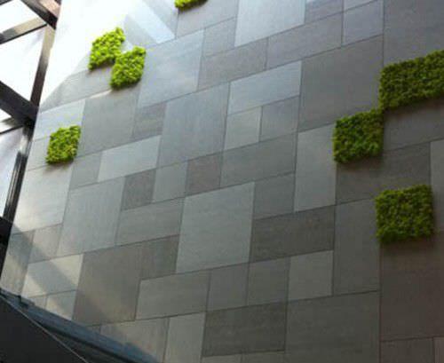 Baldosa de exterior para pavimento de gres porcel nico Baldosa pared piedra
