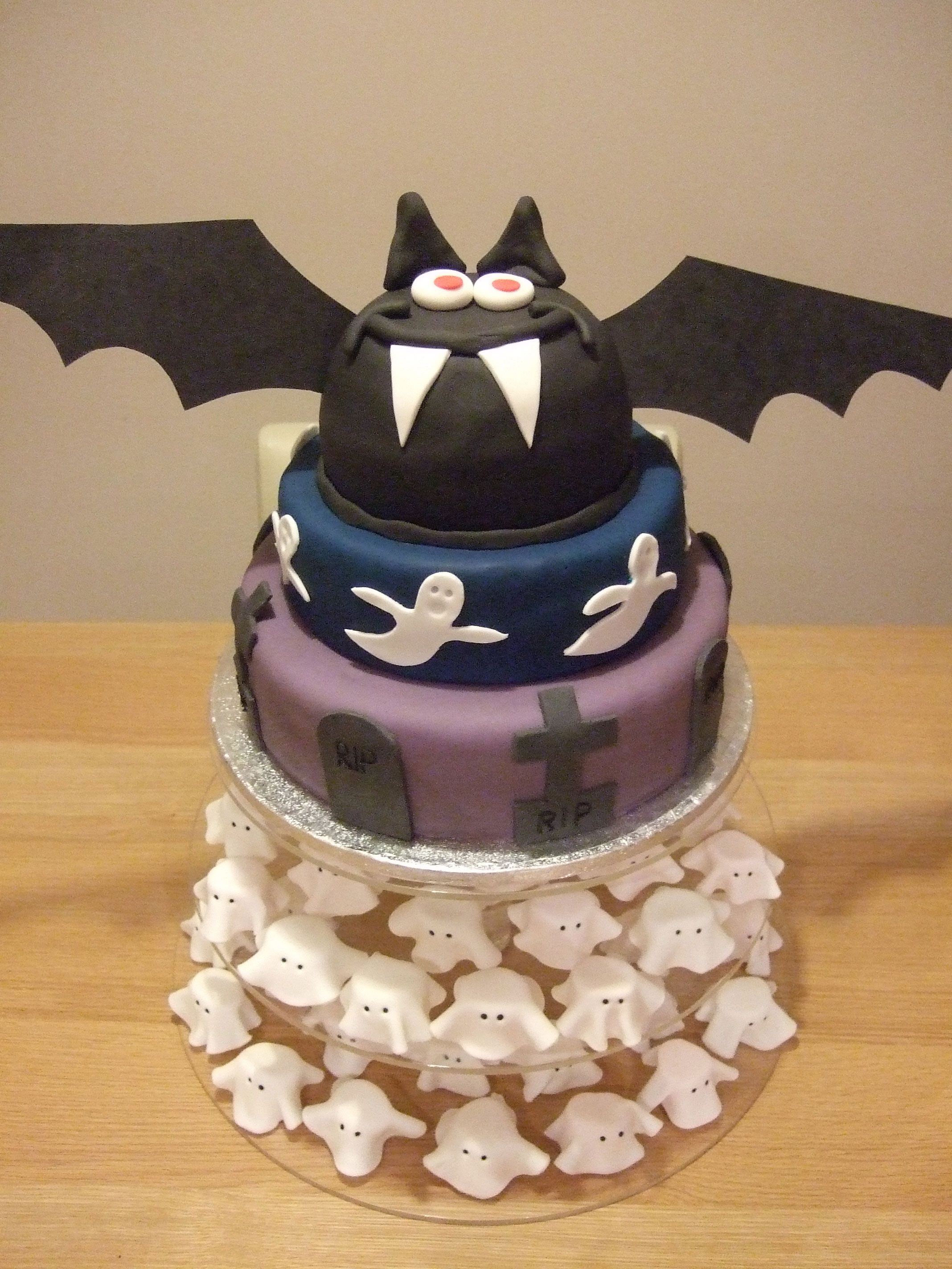 Asda good living cake cake competition bat cake
