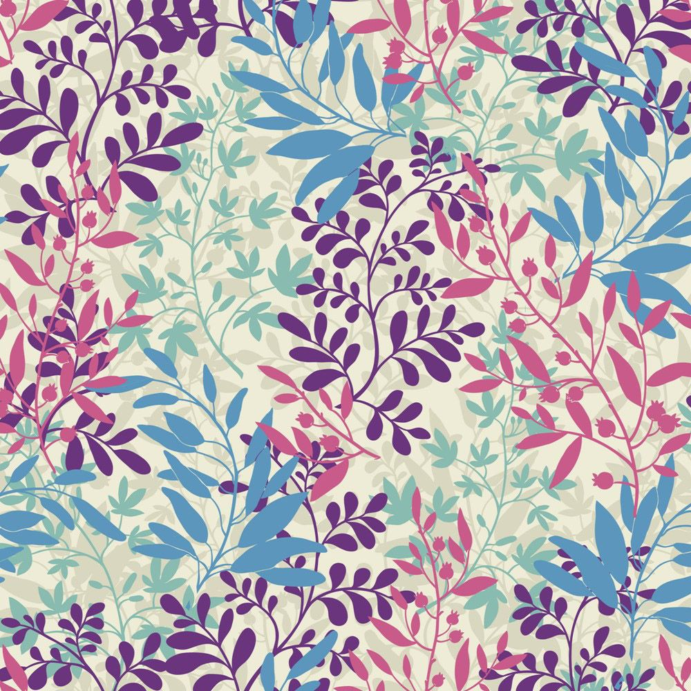 A stunning leafy pattern by one of our upcoming featured designers, Lidija Paradinovic Nagulov of Celandine Design. See more at http://probablypretty.wix.com/celandine