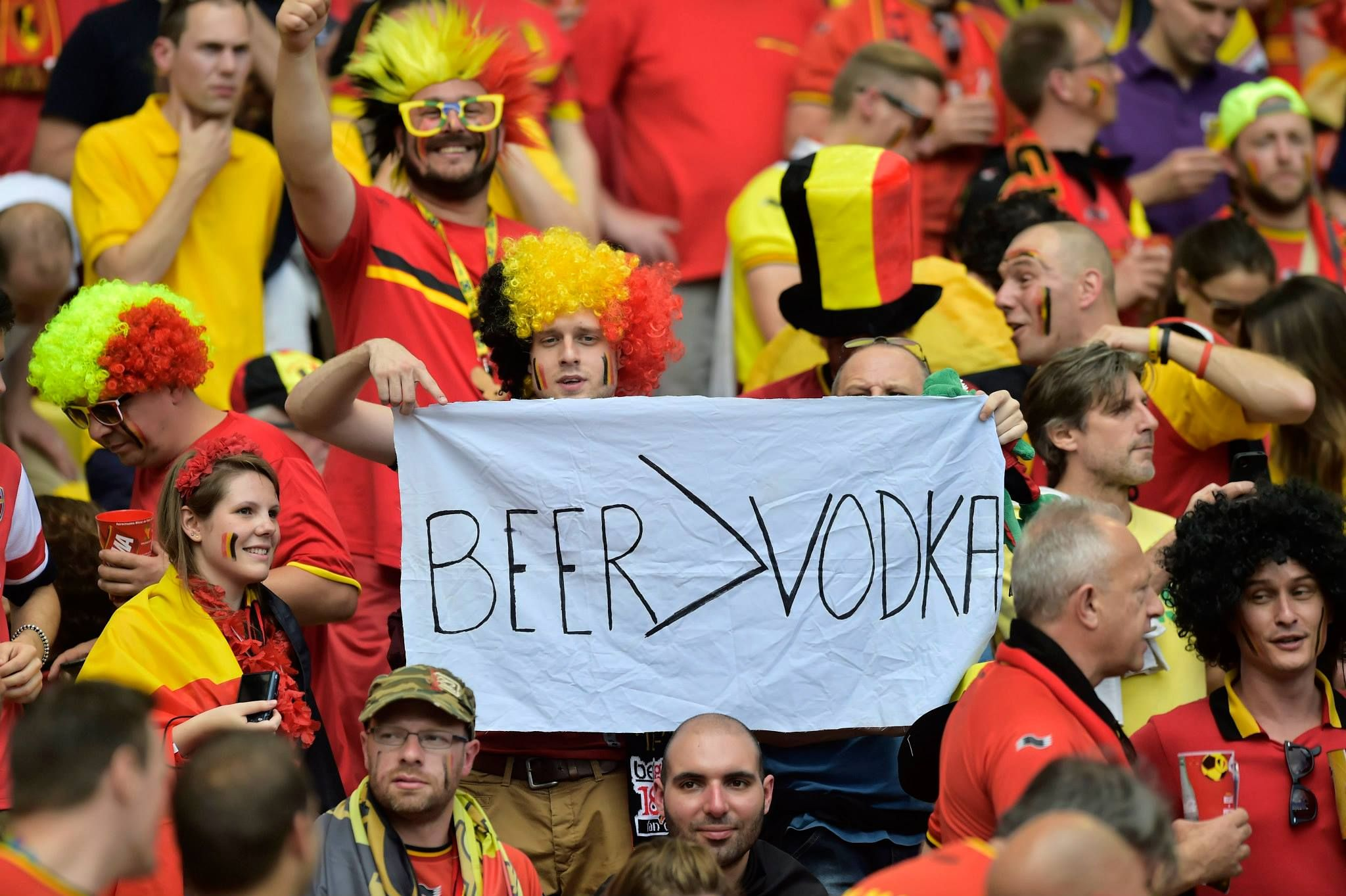 Beer Stronger Than Vodka #Worldcup