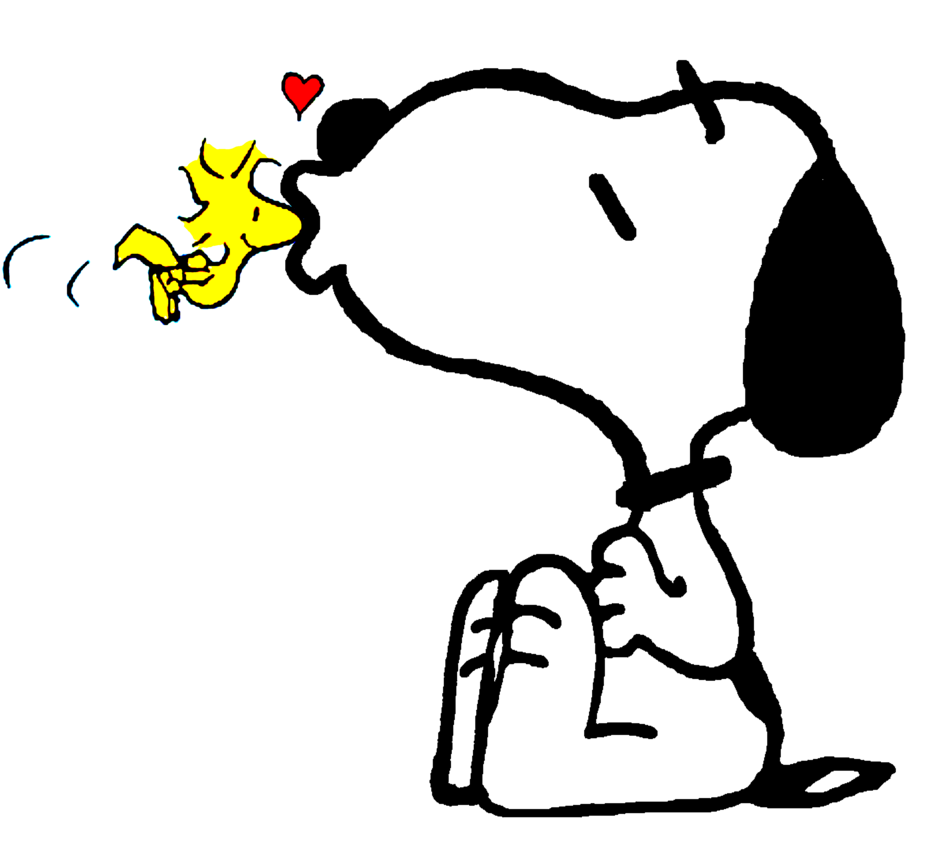 Beijo De Amigo By Bradsnoopy97 Deviantart Com On Deviantart Snoopy Wallpaper Snoopy Love Snoopy Funny