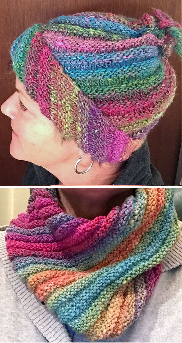 Free Knitting Pattern for Emergency Hat - This is a hat with a ...