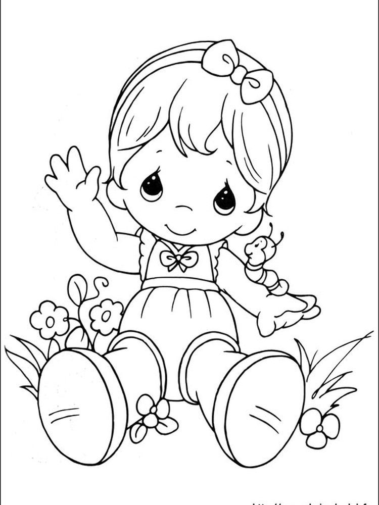 Precious Moments Coloring Page - Coloring Home | 1000x750