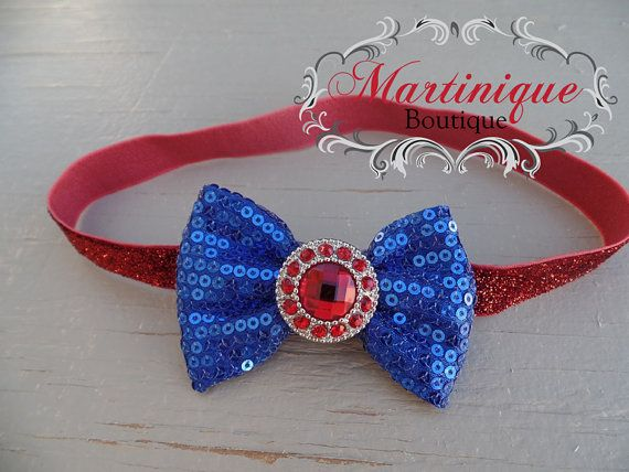 Check out this item in my Etsy shop https://www.etsy.com/listing/233251969/4th-of-july-navy-blue-fabric-sequin-bow