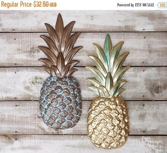 Pin By Diana Boules On Craft Ideas Pineapple Wall Decor Pineapple Kitchen Pineapple Kitchen Decor