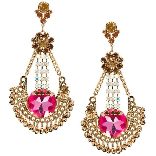 ASOS Premium Wishing Well Earrings (150 CNY) ❤ liked on Polyvore ...