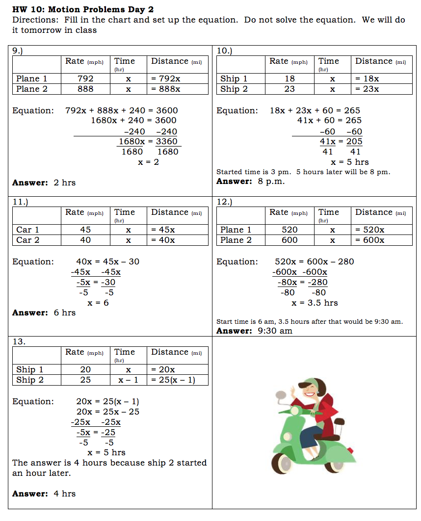 Systems Of Equations Worksheet Answers Page 5 fallcreekonlineorg – System of Equations Word Problems Worksheet