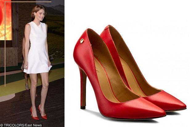 Znalezione Obrazy Dla Zapytania Czerwone Szpilki Biala Sukienka Heels Fashion Pumps