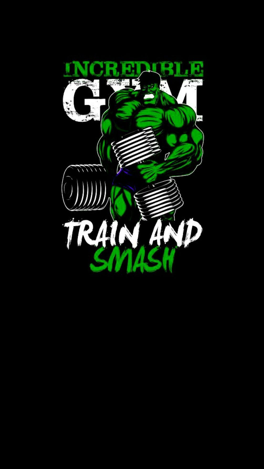 Anime Hulk Black Wallpaper Android Iphone Gym Art Gym Wallpaper Bodybuilding Logo