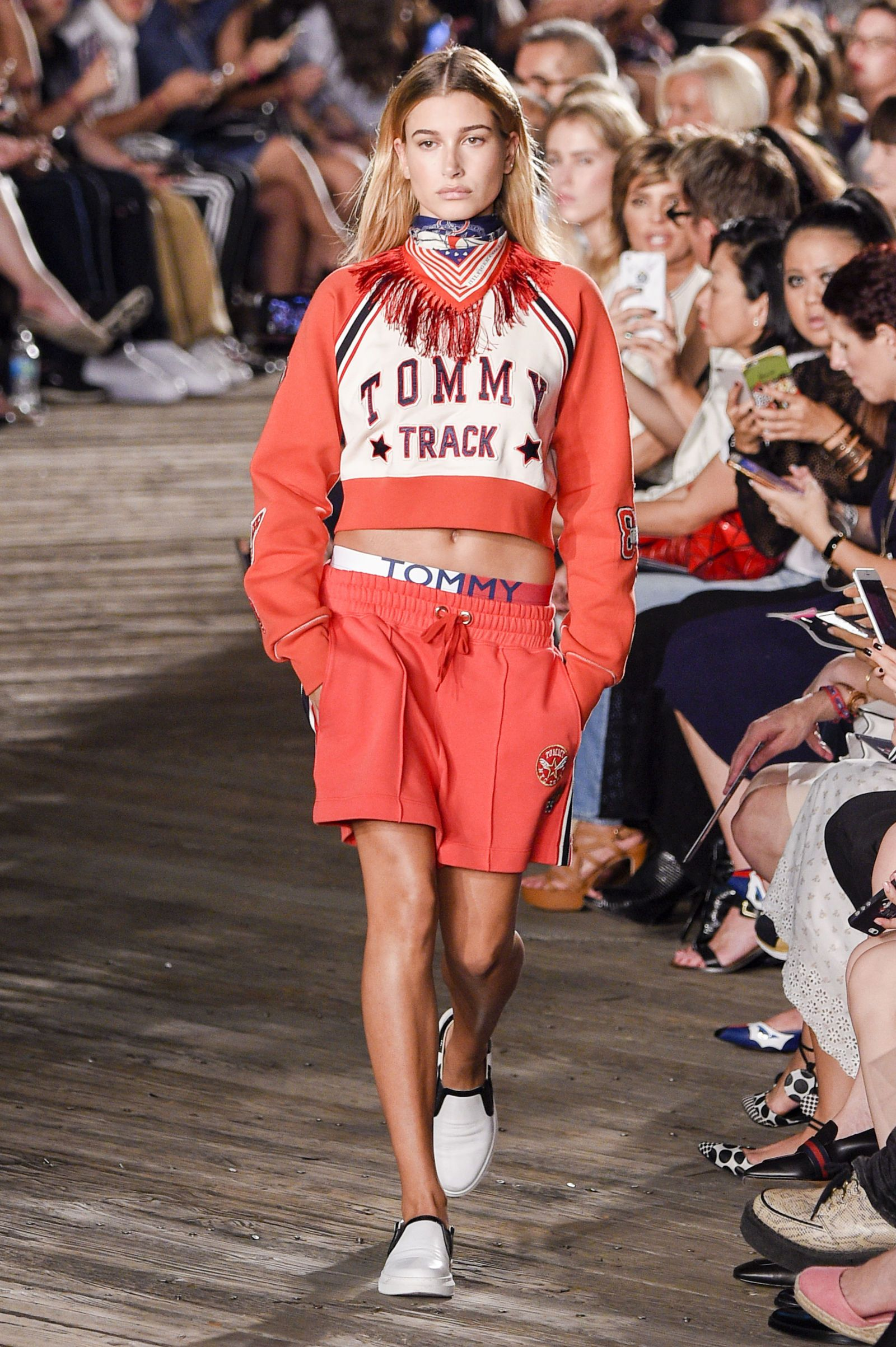 Hailey Baldwin Watch SS17: From FROW to Runway