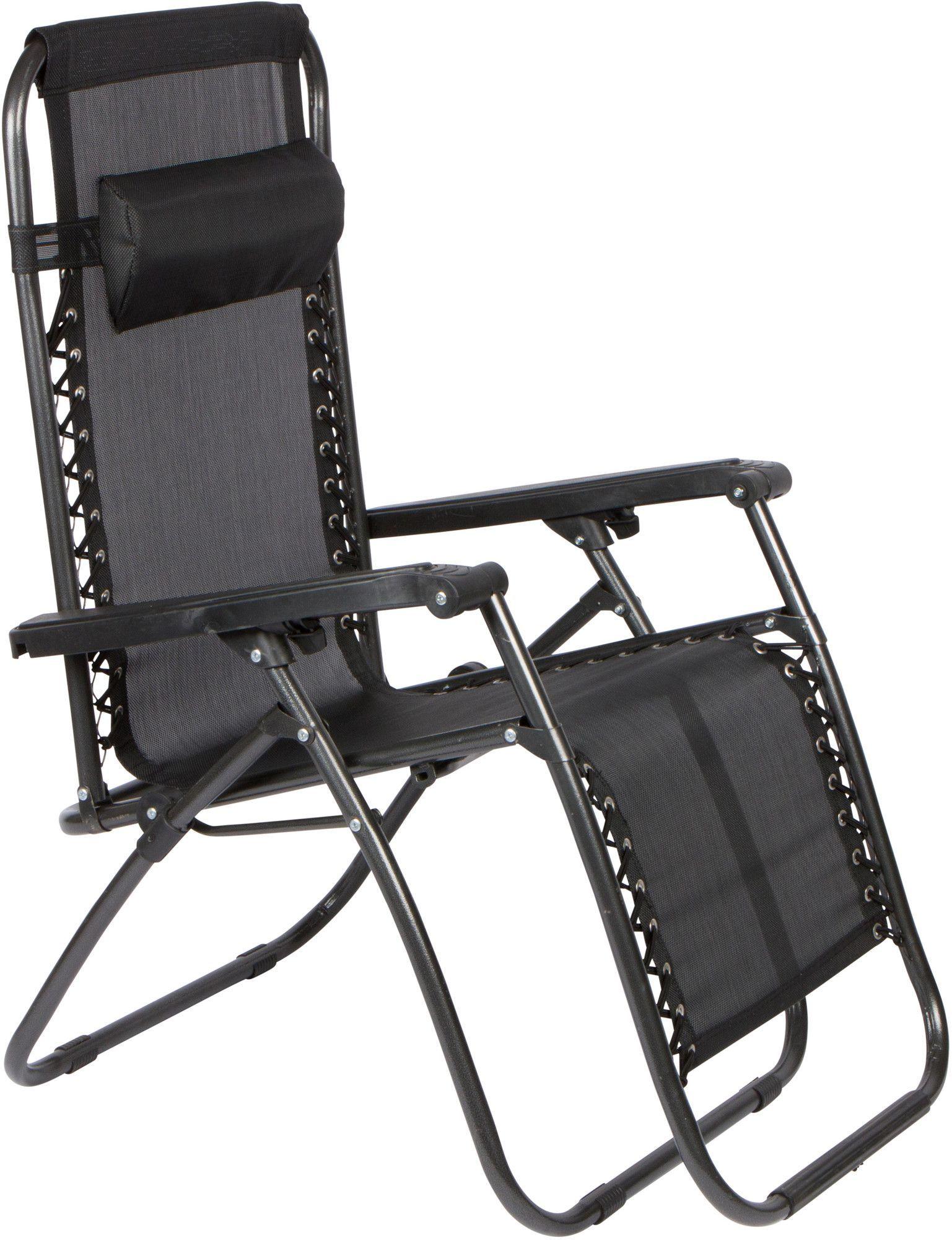 Winnett Reclining/Folding Zero Gravity Chair with Cushion ...