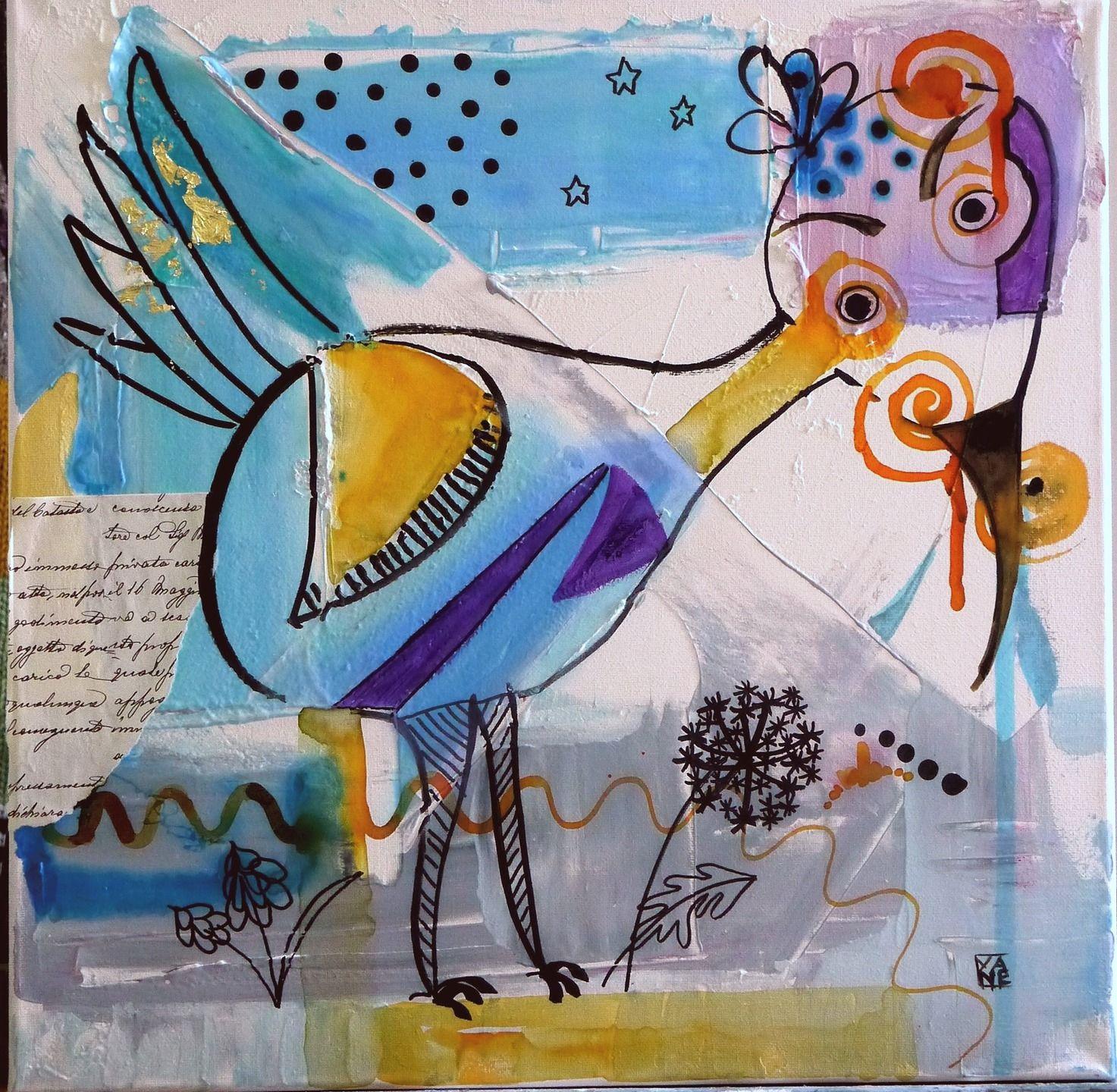 Tableau peinture contemporaine acrylique turquoise d co for Pinterest peinture