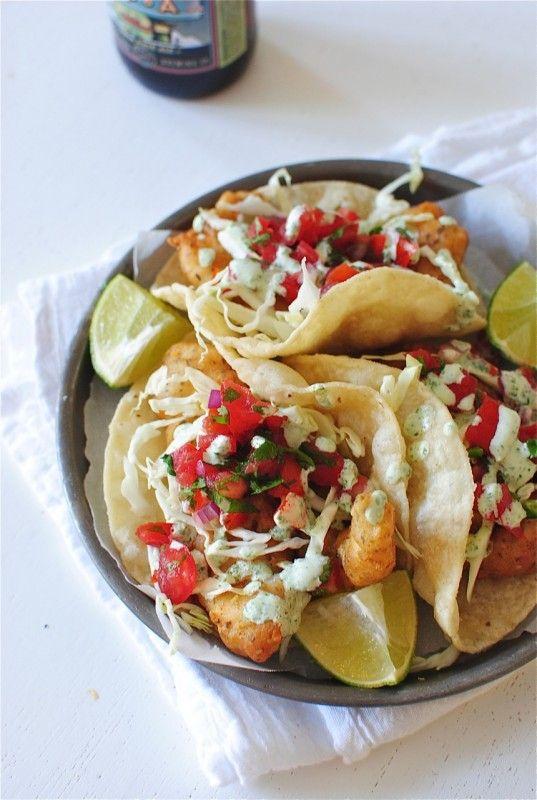 Beer battered catfish tacos recipe bev cooks recipes for Beer battered fish airfryer