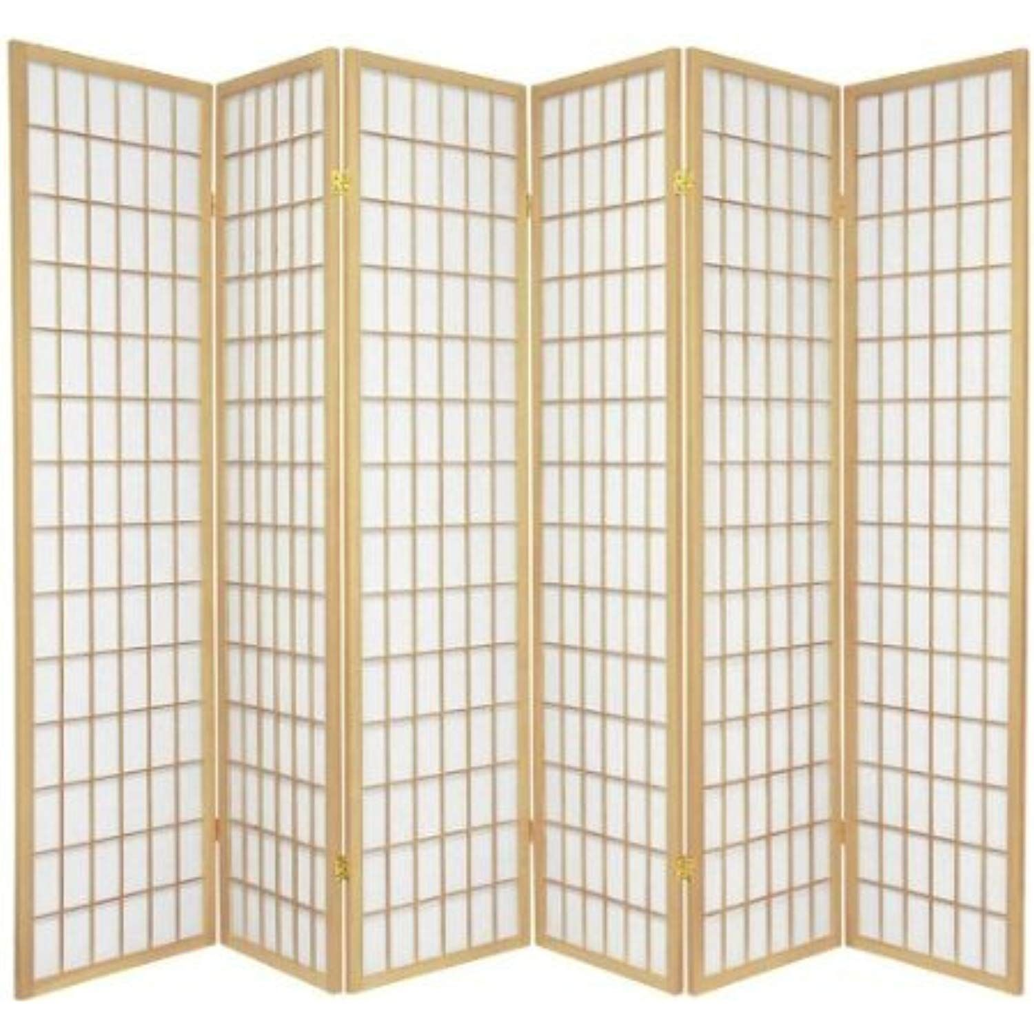 Legacy Decor 6 Panel Japanese Oriental Style Room Screen Divider Natural Color Click Image For Mo Shoji Screen Room Divider Shoji Screen Panel Room Divider