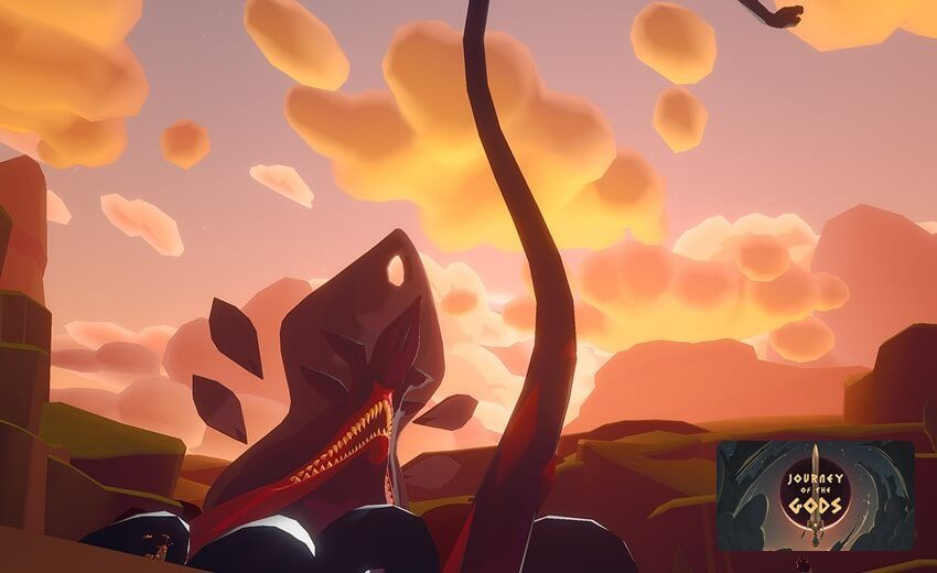 Journey of the Gods in 2020 Oculus, Go game, Superhot