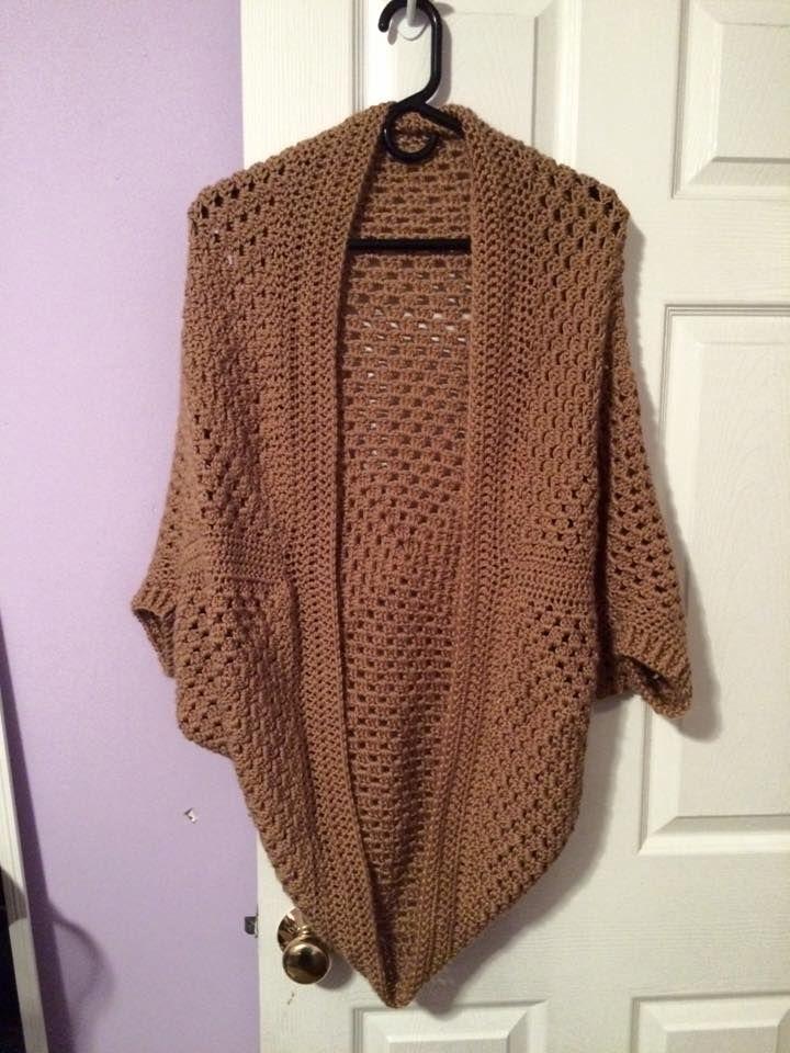 Crochet Cocoon Shrug Pattern Ideas Whoot Best Crochet