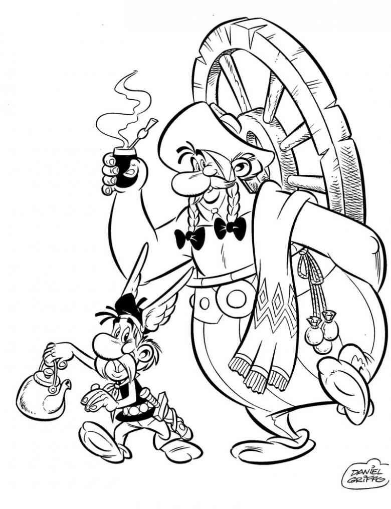 Asterix 21 Ausmalbilder
