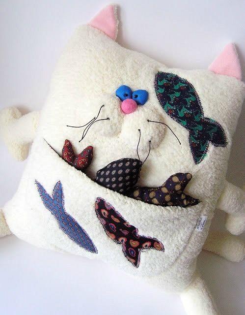 Игрушка подушка декоративная своими руками