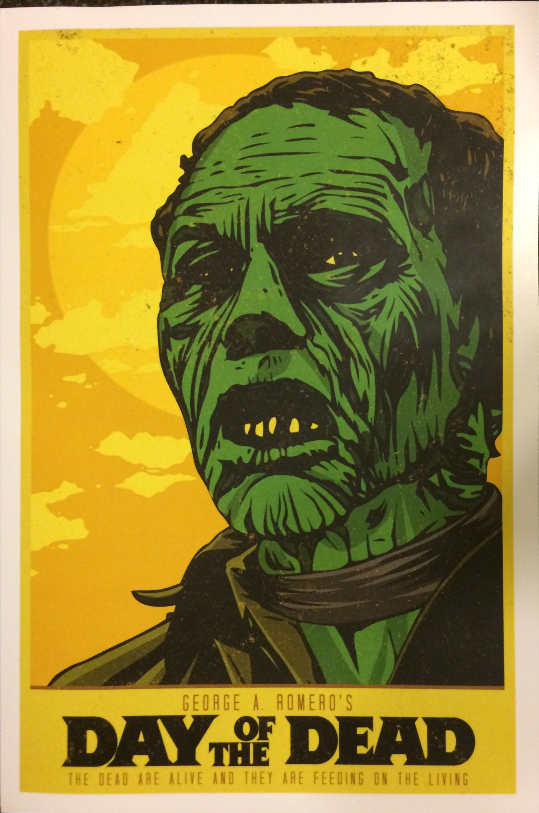 Day of the Dead Poster Art Print (With images) Horror