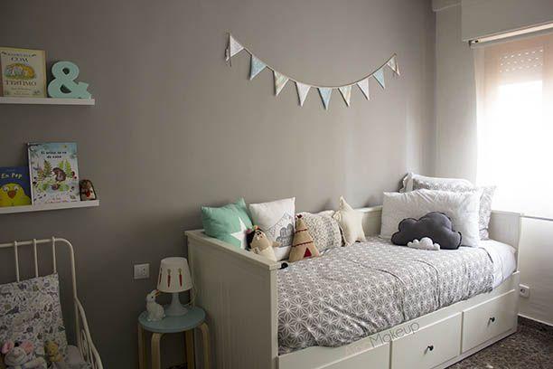 Habitacion infantil divan hemnes buscar con google - Habitaciones infantiles en ikea ...
