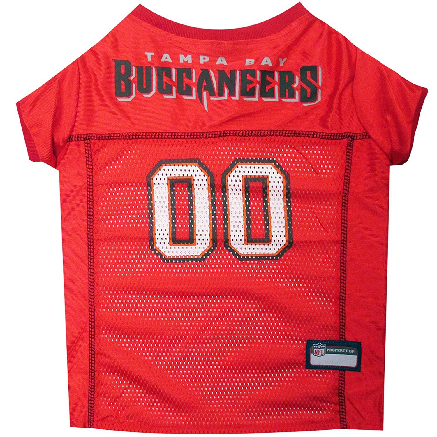 d182b246f Pets First Tampa Bay Buccaneers Mesh Jersey