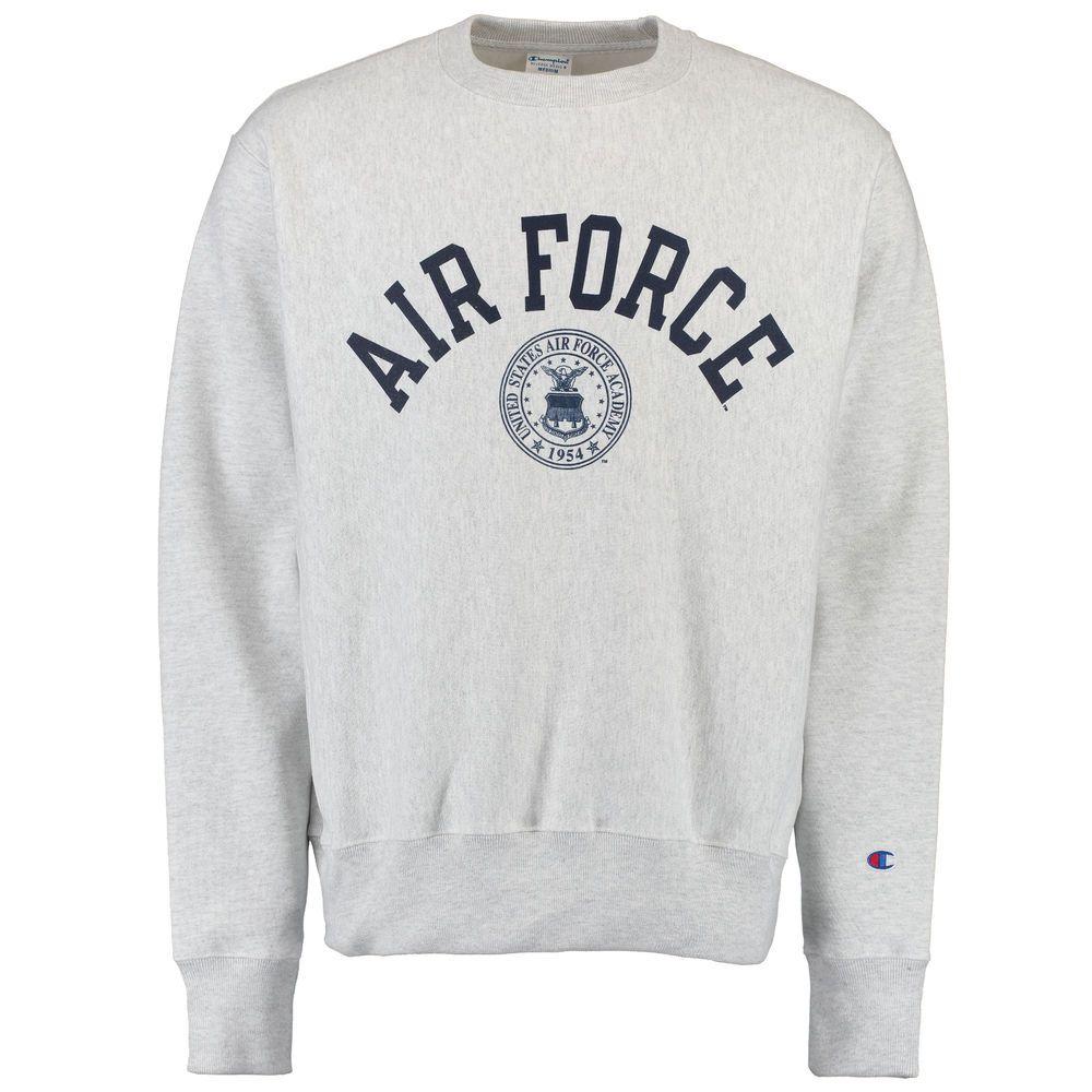 Men S Champion Gray Air Force Falcons Reverse Weave Sweatshirt Air Force Sweatshirt Air Force Hoodie Air Force Shirt [ 1000 x 1000 Pixel ]