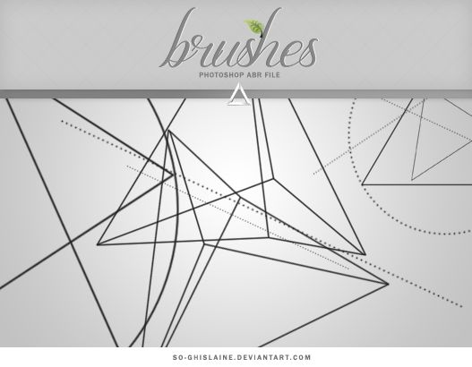 Brushes - Triangle by So-ghislaine | • resources • | Pinterest ...