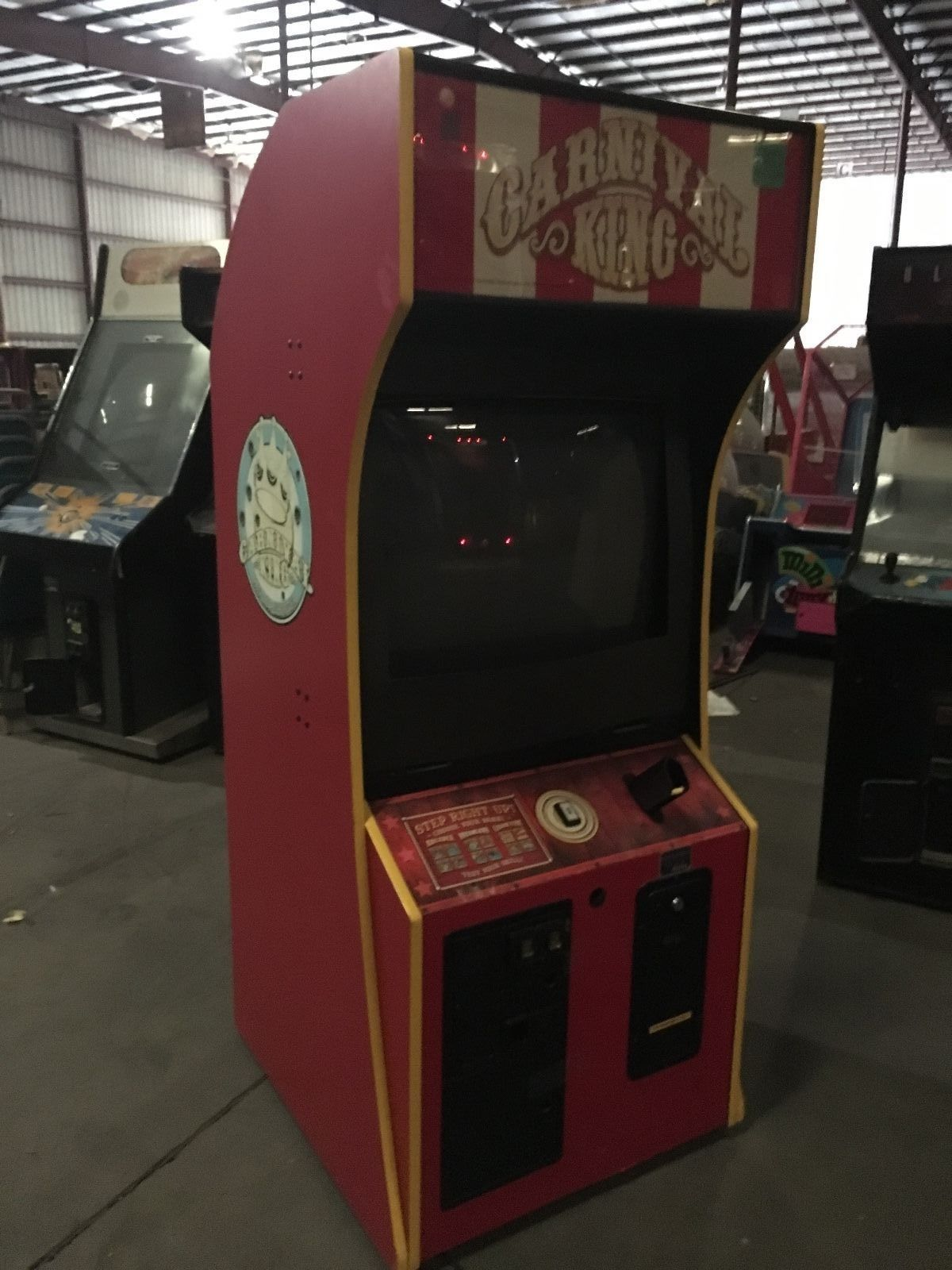 Untested Project Carnival King Arcade Game (see Photo's