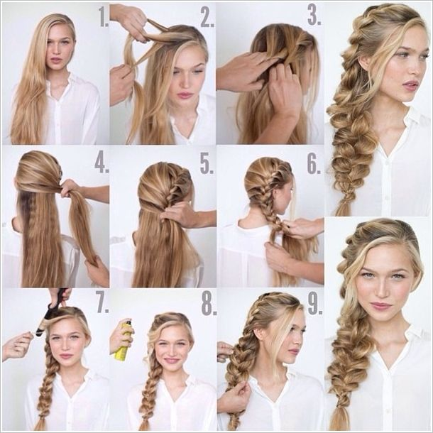 Strange How To Make Romantic Loose Side Braided Hairstyle Medium Hair Schematic Wiring Diagrams Amerangerunnerswayorg