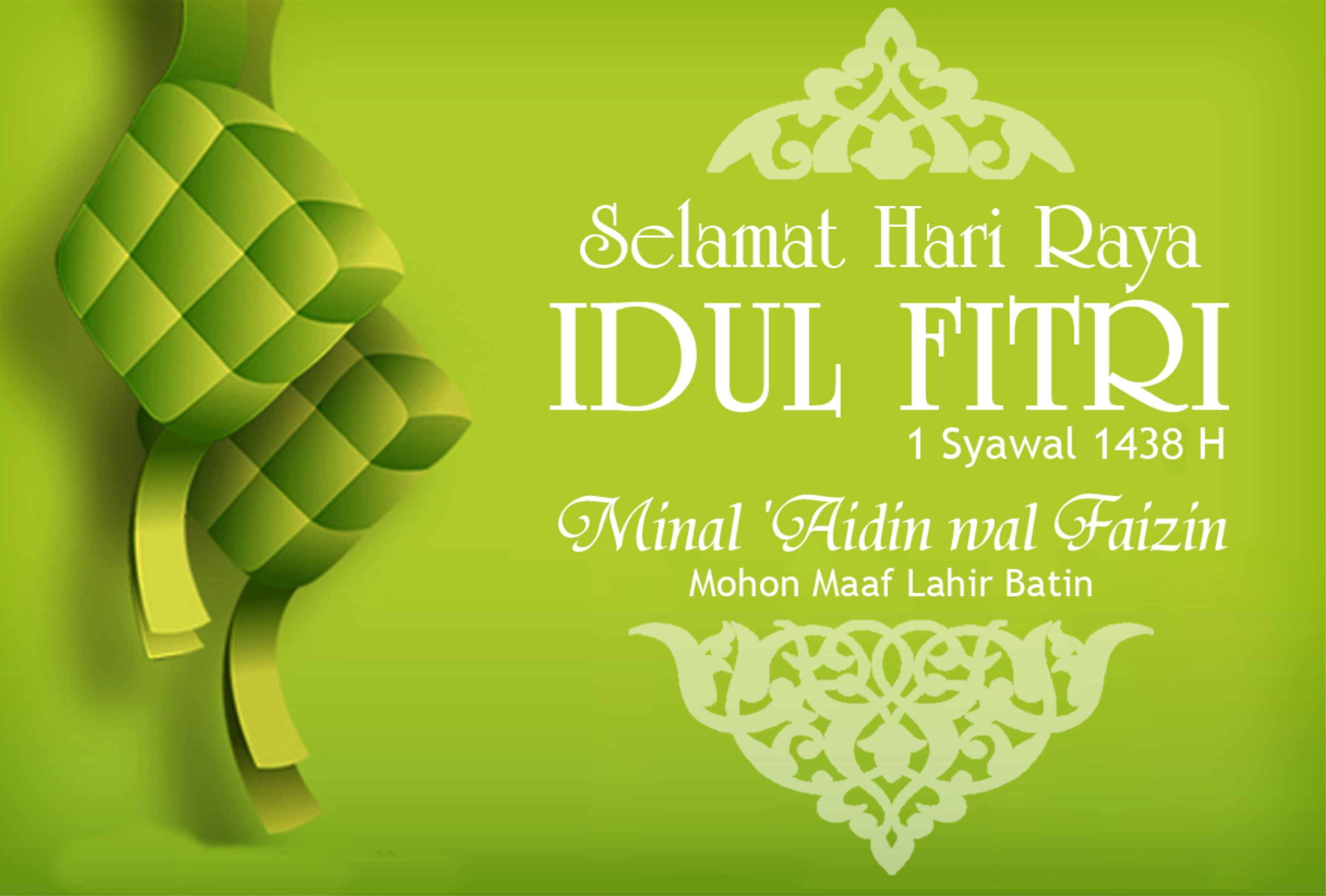 Shalat Idul Fitri 1 Syawal 1438 H 25 Juni 2017 Kepastian Tanggal