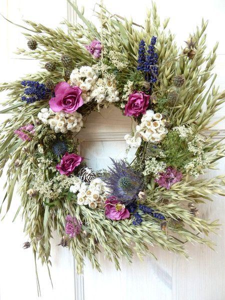 Getrocknete Blüten deko objekte deko landhausstil getrocknete blüten ein