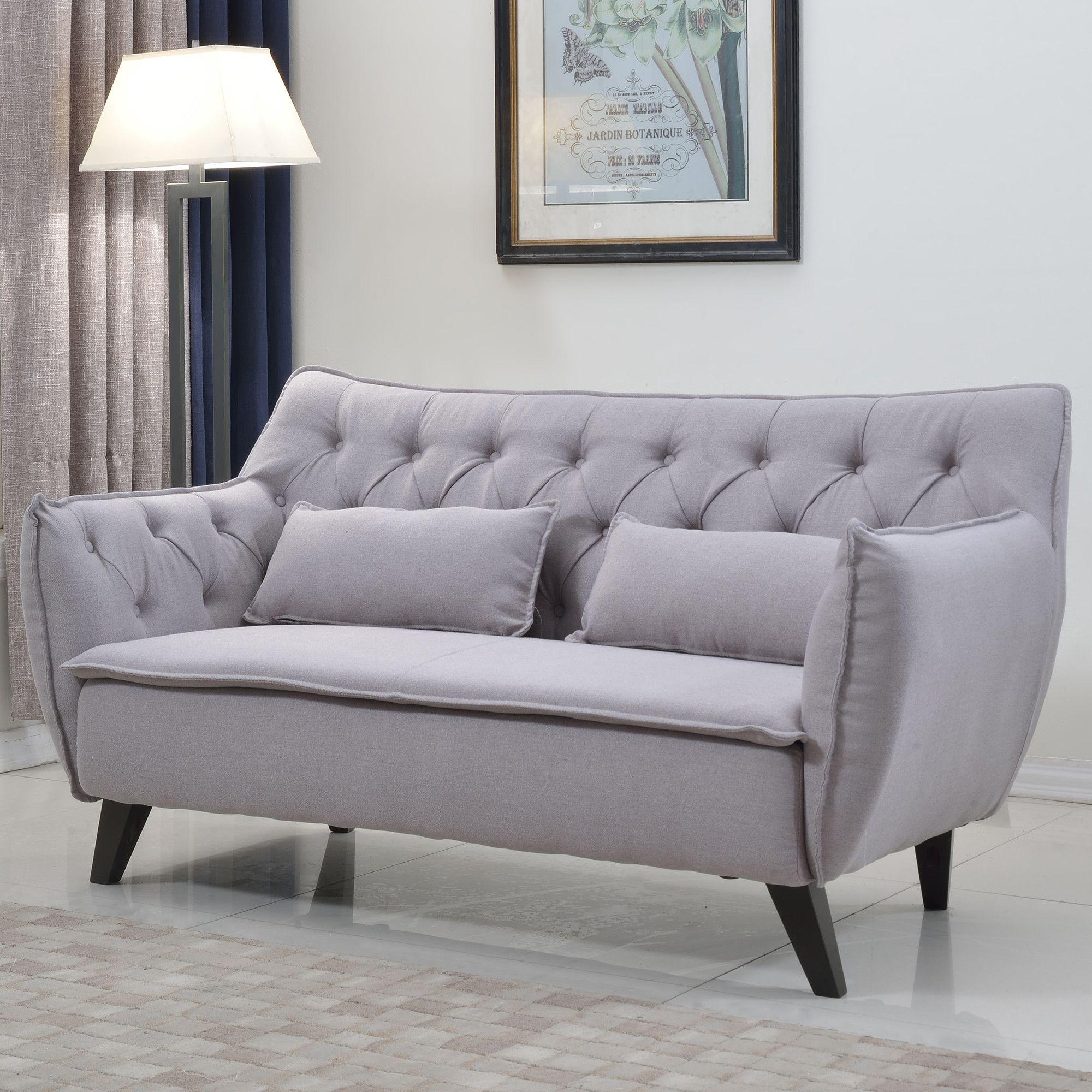 mid century modern loveseat products living room furniture rh pinterest com