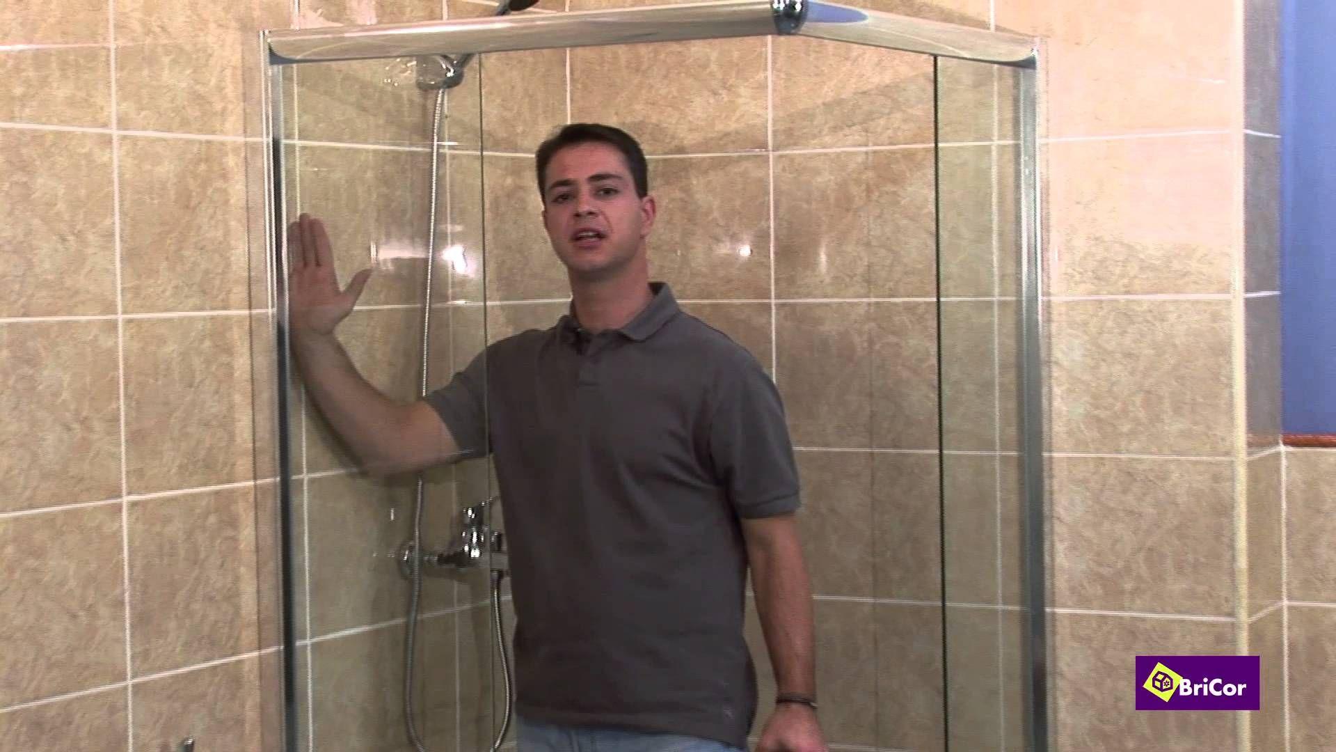 Cómo instalar mampara ducha