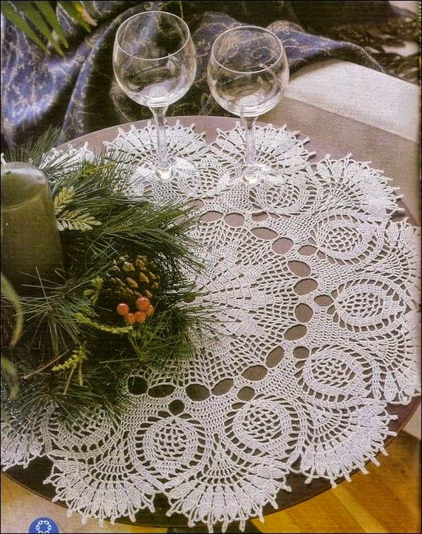 Doily pattern   Tejidos-crochet   Pinterest   Carpetas crochet ...