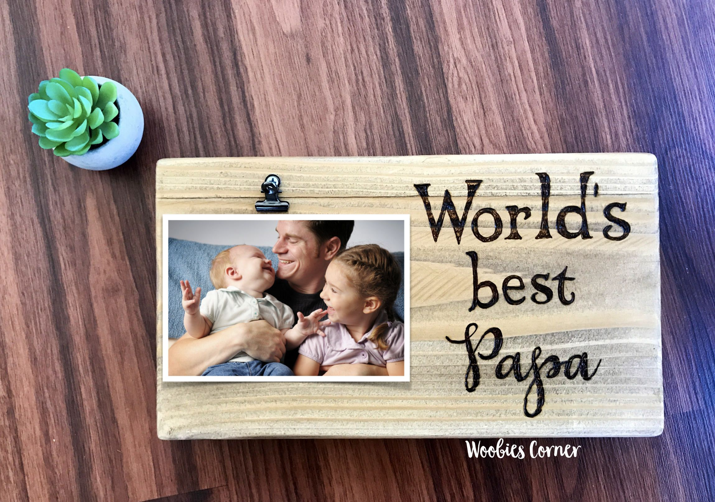 Father/'s Day Frame Dad Frame Grandpa Frame Fathers Day gift custom baseball hand painted personalized photo picture frame