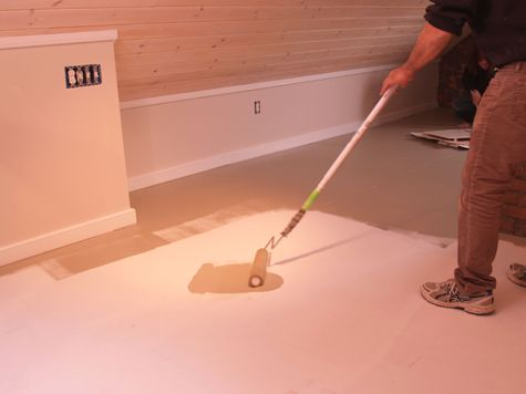 How To Make A Painted Plywood Floor Painting Floors