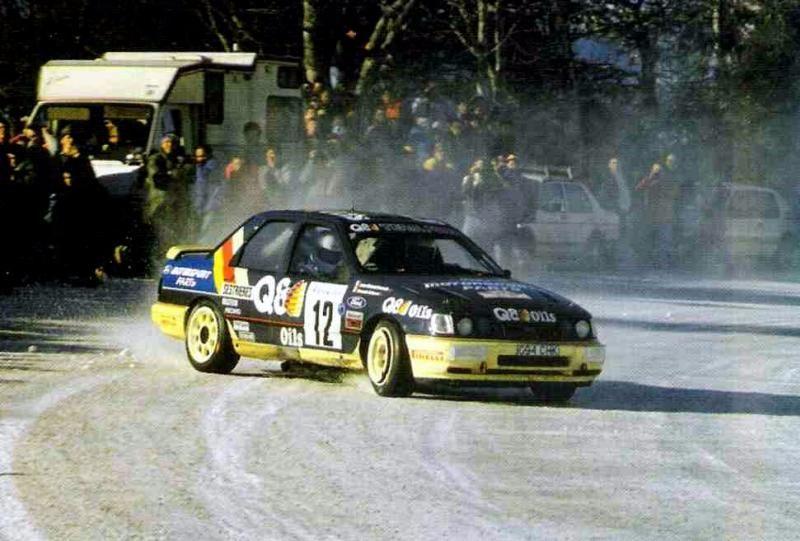 Rallye Monte Carlo 1991 Voiture De Rallye Rallye Historique