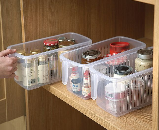 Image For Plastic Kitchen Cupboard Organisers 3 From Scotts Of Stow