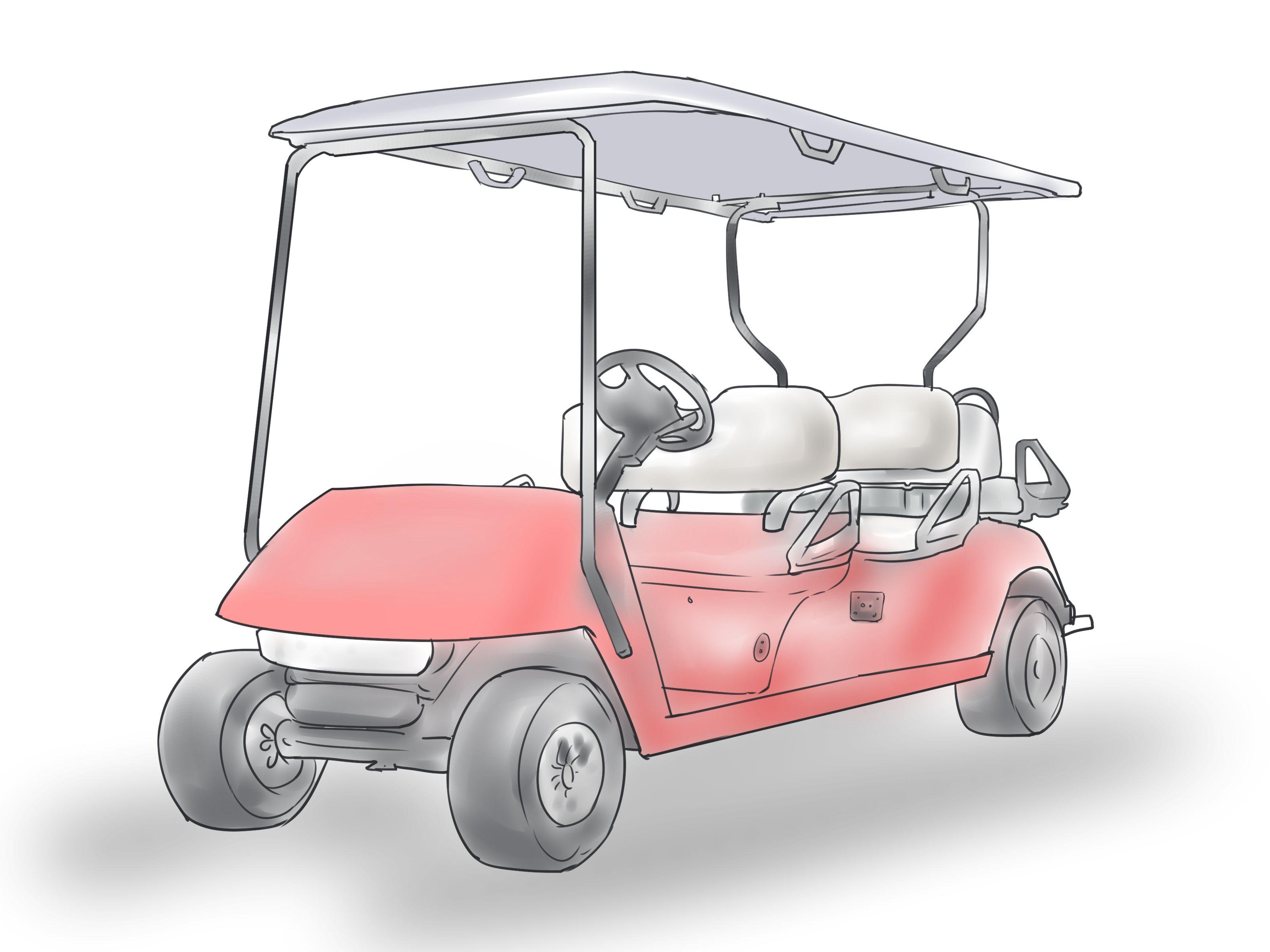 Paint A Golf Cart