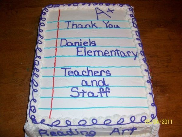 Teacher Appreciation With Images Teacher Cakes Teacher