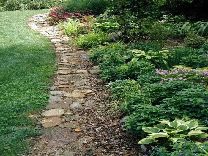 garden+stone+edging | Landscape Stone Edging Ideas | garden ideas ...