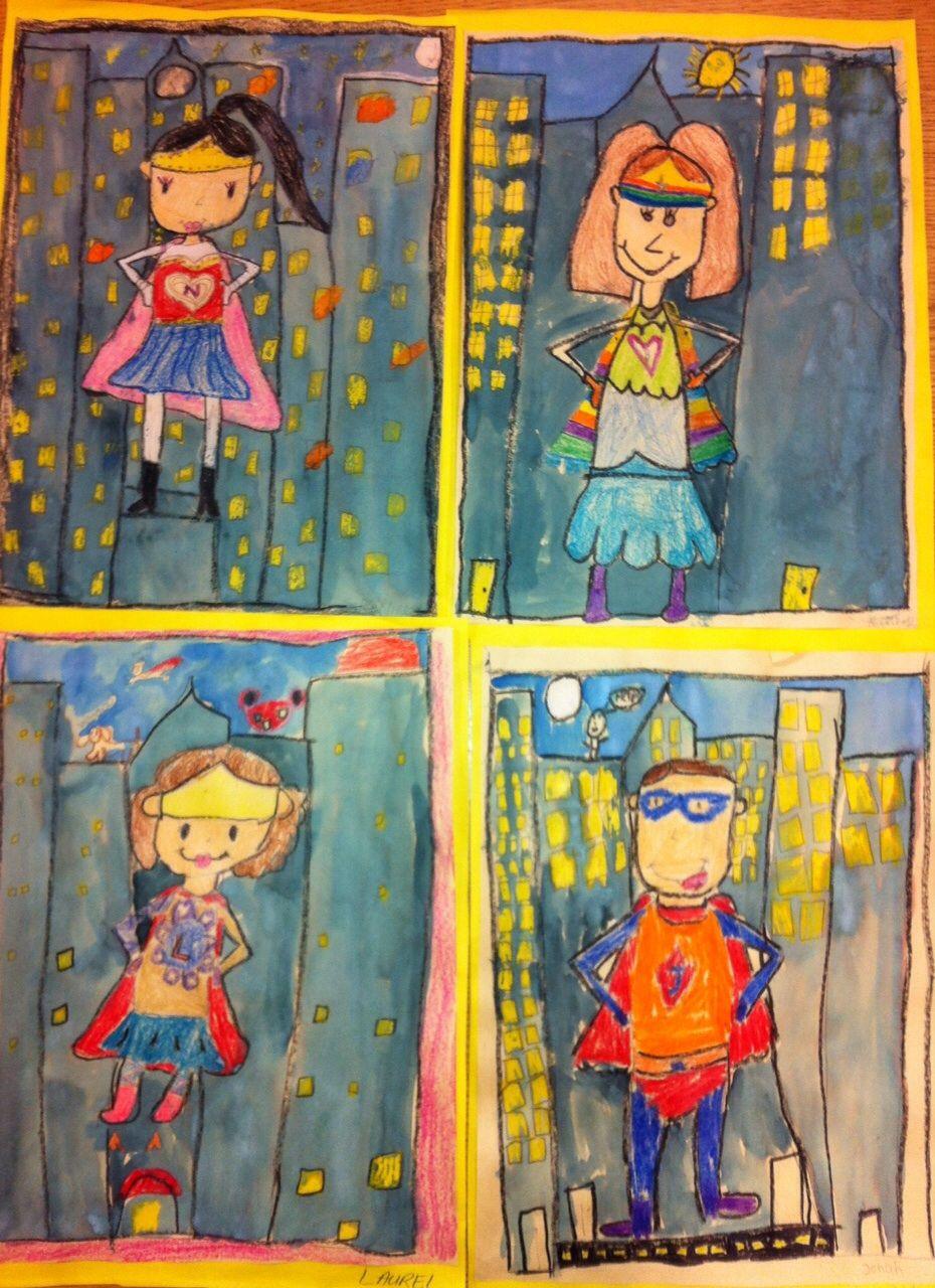 Second Grade Teachers Superheroes Appreciation Wall Art