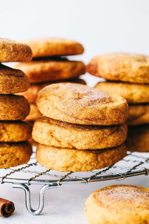Weiche und geschwollene Kürbis-Snickerdoodles | Der Rezeptkritiker  – Dessert