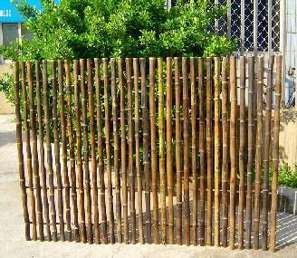 This Fence Would Be Perfect For My South Garden Bed. Ornamental Black Bamboo  Fence,