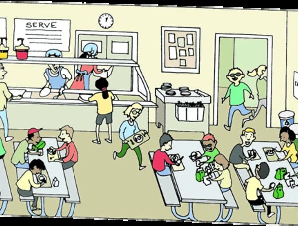 Cartoon School Cafeteria Clip Art With Images Cafeteria