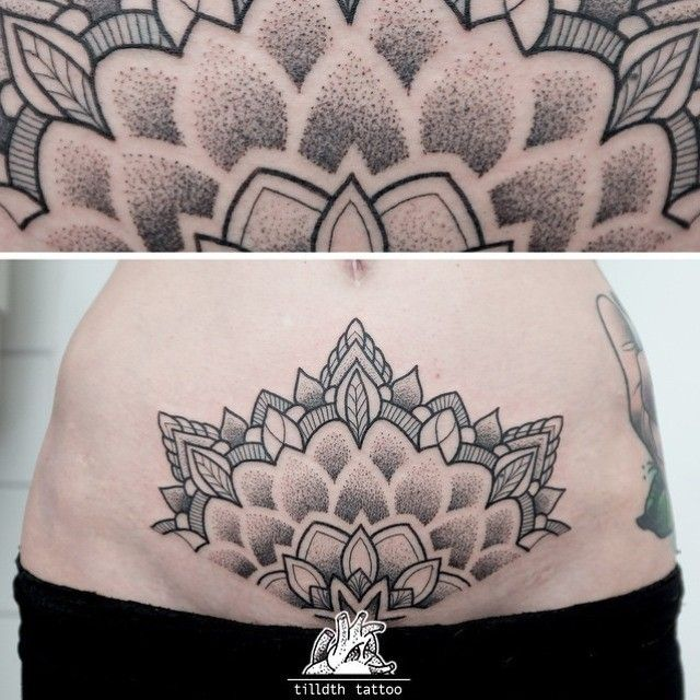 Instagram | Crotch tattoos, Pelvic tattoos, Belly tattoos