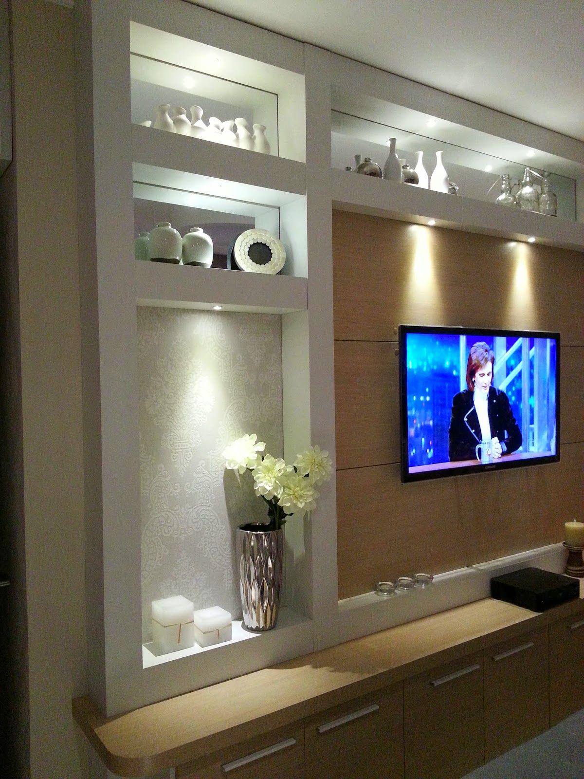 Arquitetura e interiores dise o de la zona tv for Curso de decoracion de interiores zona norte