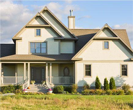 Id e de couleur pour l 39 ext rieur de la maison for the home pinterest - Idee exterieur maison ...