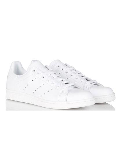 ceste stan smith en in cuir blanc dall'adidas kim taehyung